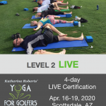 Katherine Roberts' Yoga For Golfers LIVE Certification, April 16-19, 2020