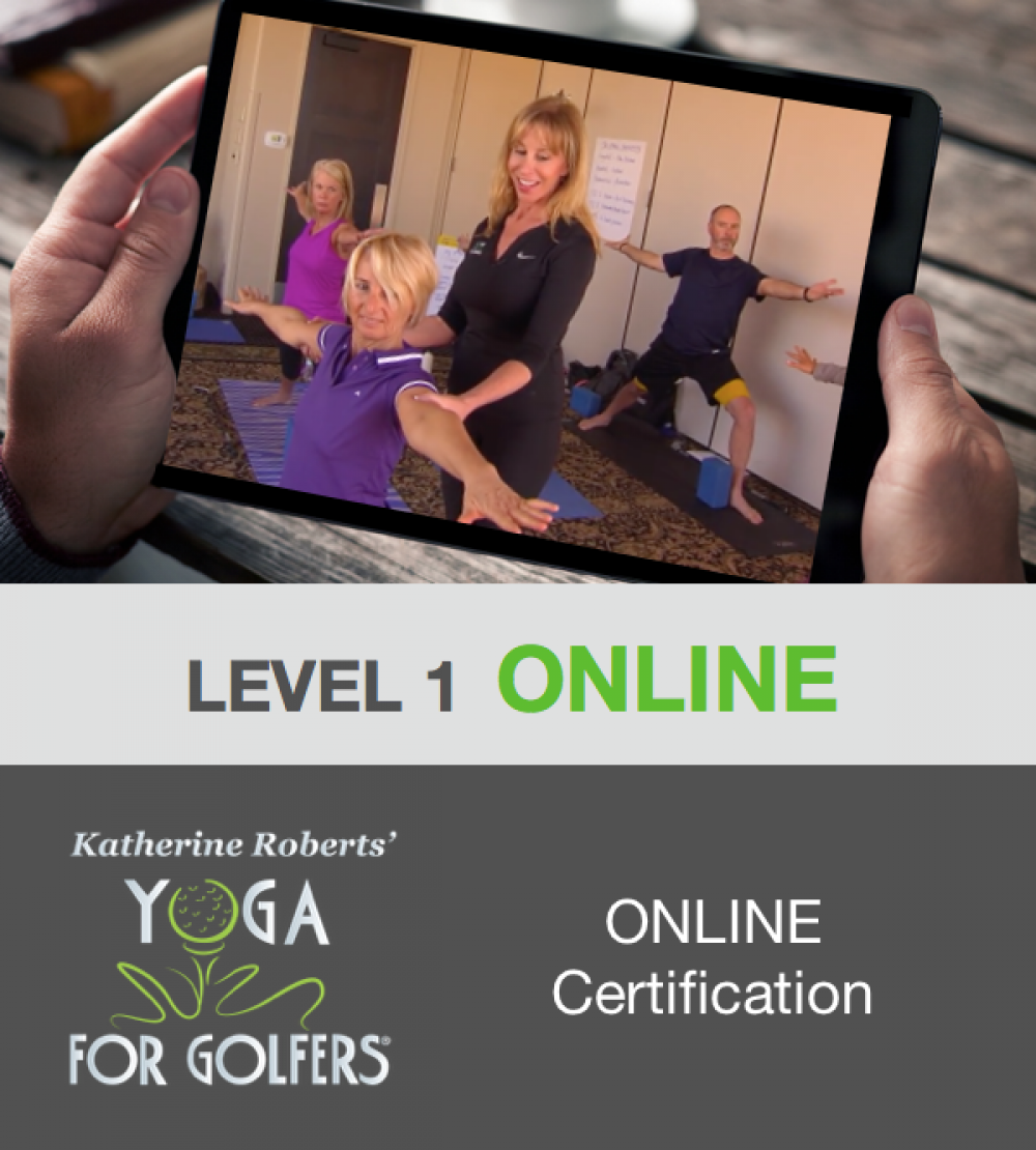 6 Katherine Roberts Yoga For Golfers Online Certification Level 1 Human Performance For Sports