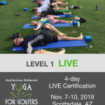 Katherine Roberts' Yoga For Golfers Instructor Certification