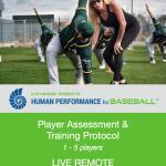 Katherine Roberts' Human Performance for Baseball Player Assessment and Training Protocol. 1-5 Players