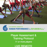 Katherine Roberts' Human Performance for Baseball Assessment and Training Protocol