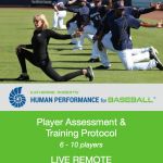 Katherine Roberts' Human Performance for Baseball Assessment & Training Protocol