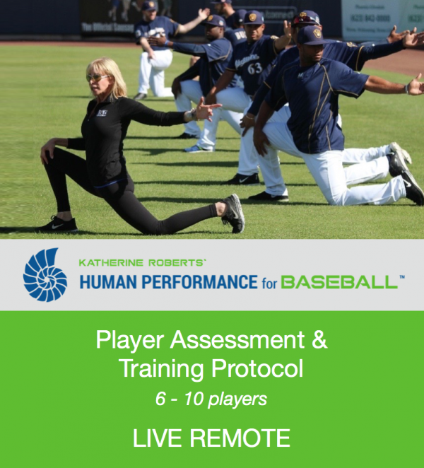 Katherine Roberts' Human Performance for Baseball Assessment & Training Protocol