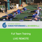 Katherine Roberts' Human Performance for Baseball Full Team Training
